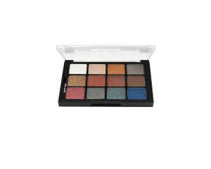 Studio Color Modern Neutrals Pearl Sheen Pressed Palette - 12 Color
