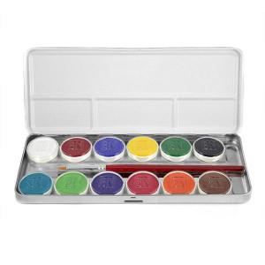 Magicake Aqua Color Master Palette (12-Color)