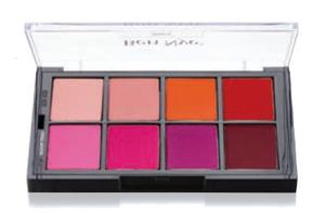 Studio Color Vivid Blush Pressed Palette - 8 Color