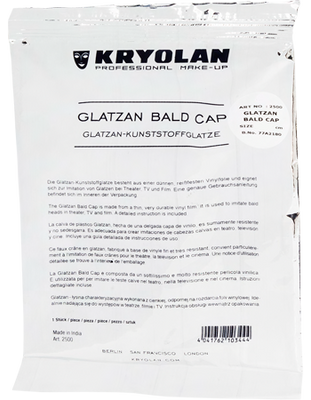 Glatzan Bald Cap Uncolored Large