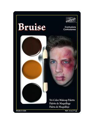 Bruise - Tri-Color Character Makeup Palette