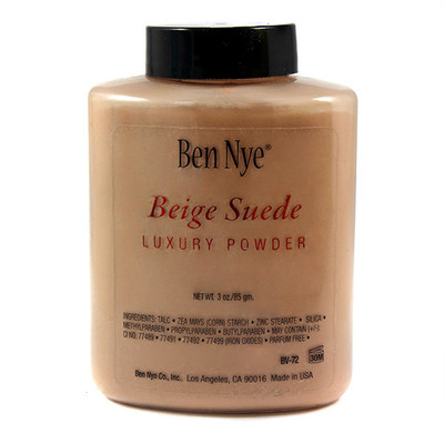 Beige Suede Luxury Powder