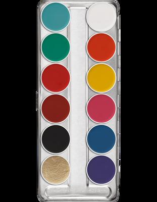 Aquacolor Palette - 12 Color