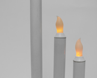 10″ LED Taper Candle
