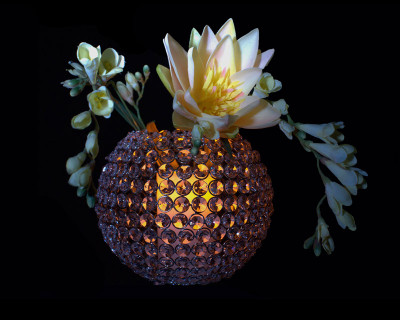 5″ LED Wax Pillar Candle