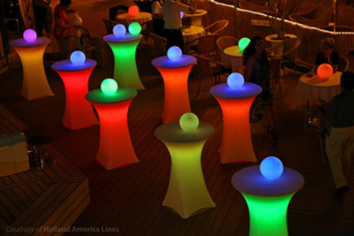 Maxcolor Cocktail Table Light