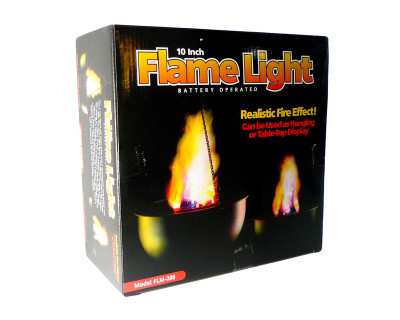 10″ Battery Flame