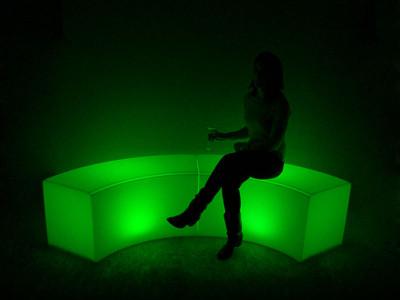 Maxcolor Table Skirt Light