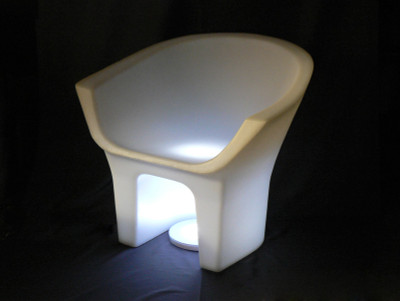 PolyDeco Throne Chair