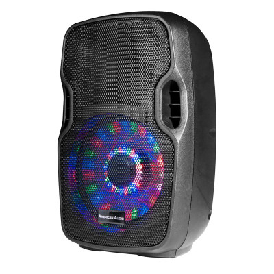 """ELS 8GO LTW 8"""" Battery Powered Rechargable Speaker with WirelessVHF Hand Held Microphone"""
