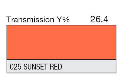 025 Sunset Red