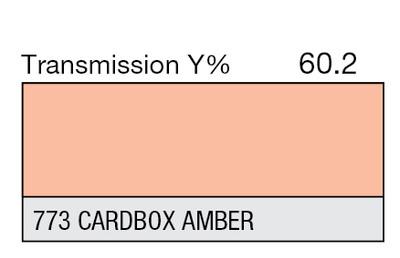 773 Cardbox Amber