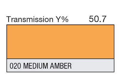 020 Medium Amber High Temp