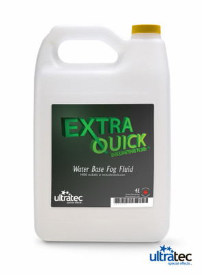 Extra Quick Dissipating Fog Fluid