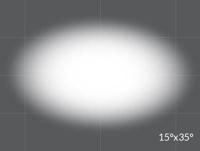 Opti-Sculpt 15° x 35°