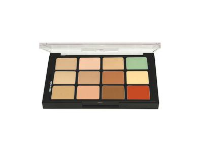 Studio Color Concealer and Adjuster Creme Palette - 12 Color