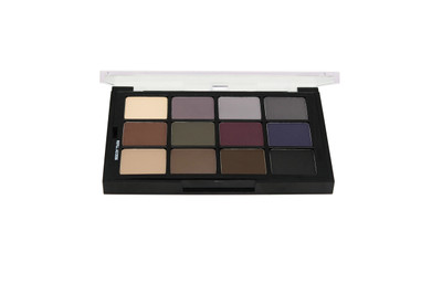 Studio Color Cool Glam Shadow Pressed Palette - 12 Color