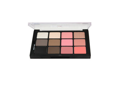 Studio Color Classy Chic Eye & Cheek Pressed Palette - 12 Color