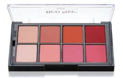 Studio Color Fashion Blush Pressed Palette - 8 Color