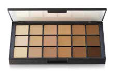 MatteHD Foundation Diverse Harmony 18-color Palette