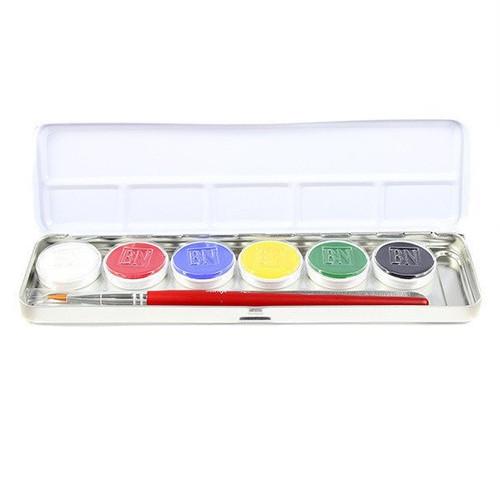 Primary Creme Palette - 6 Color