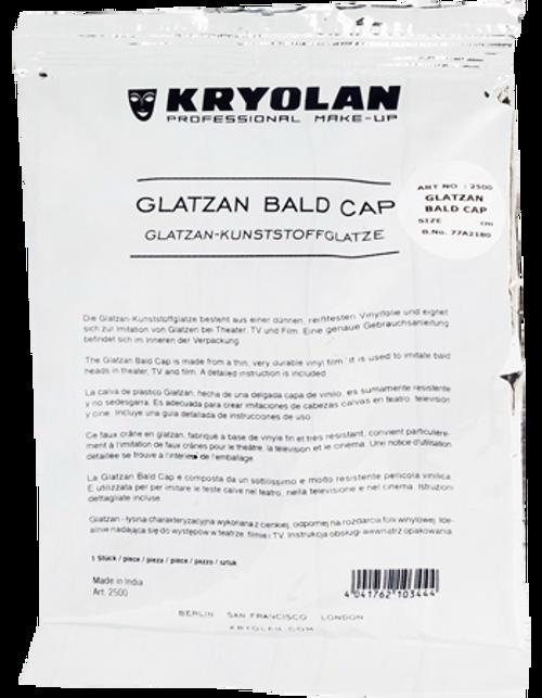Glatzan Bald Cap Uncolored Large