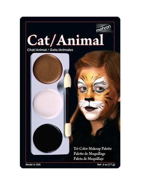 Cat/Animal - Tri-Color Character Makeup Palette