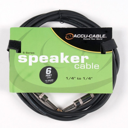 """Speaker Cable - SK Series - 1/4"""" to 1/4"""""""