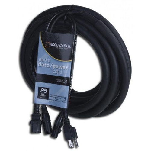 AC/XLR Combo Cable for Active Speakers