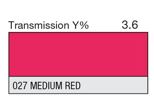 027 Medium Red