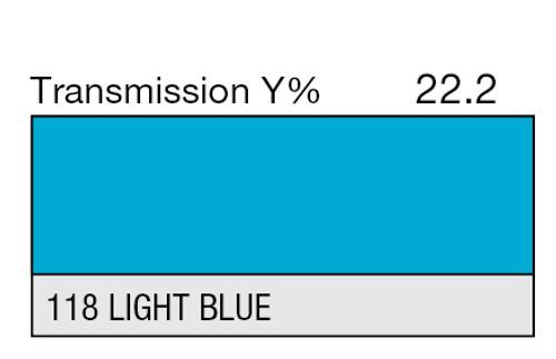 118 Light Blue High Temp
