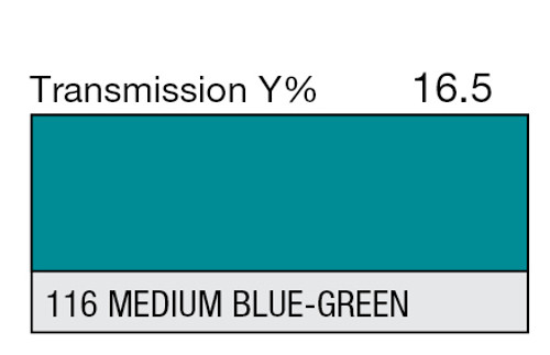 116 Medium Blue-Green High Temp