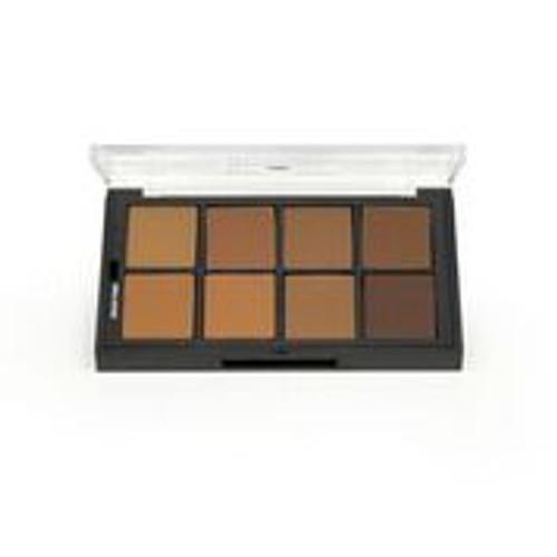 Brown Studio Color Foundation  Palette - 8 Color