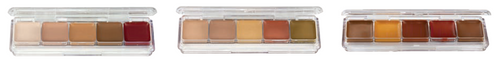 Alcohol-Activated Concealer Palettes