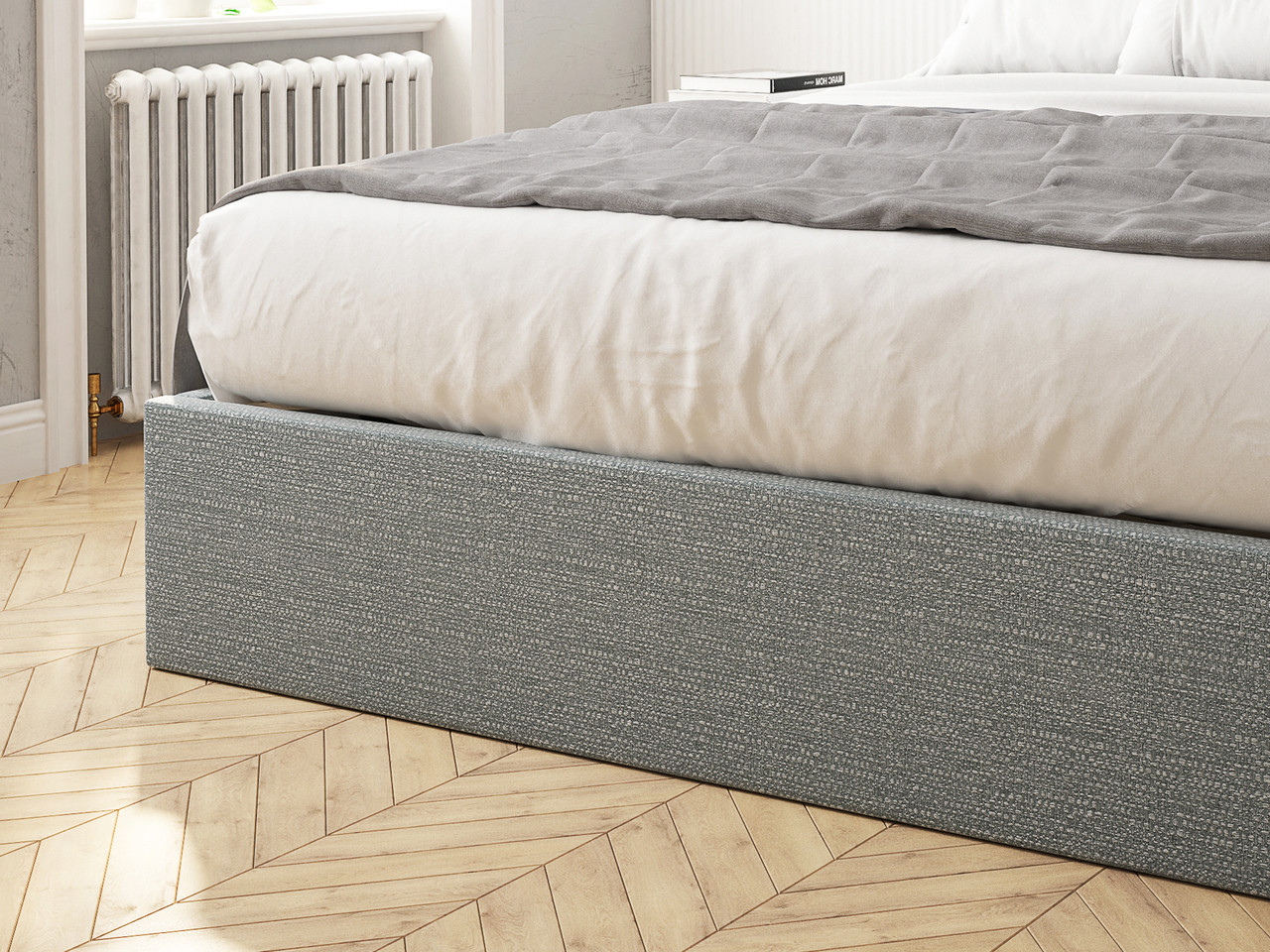 Kennedy Ottoman Upholstered Bed Frame Bensons For Beds