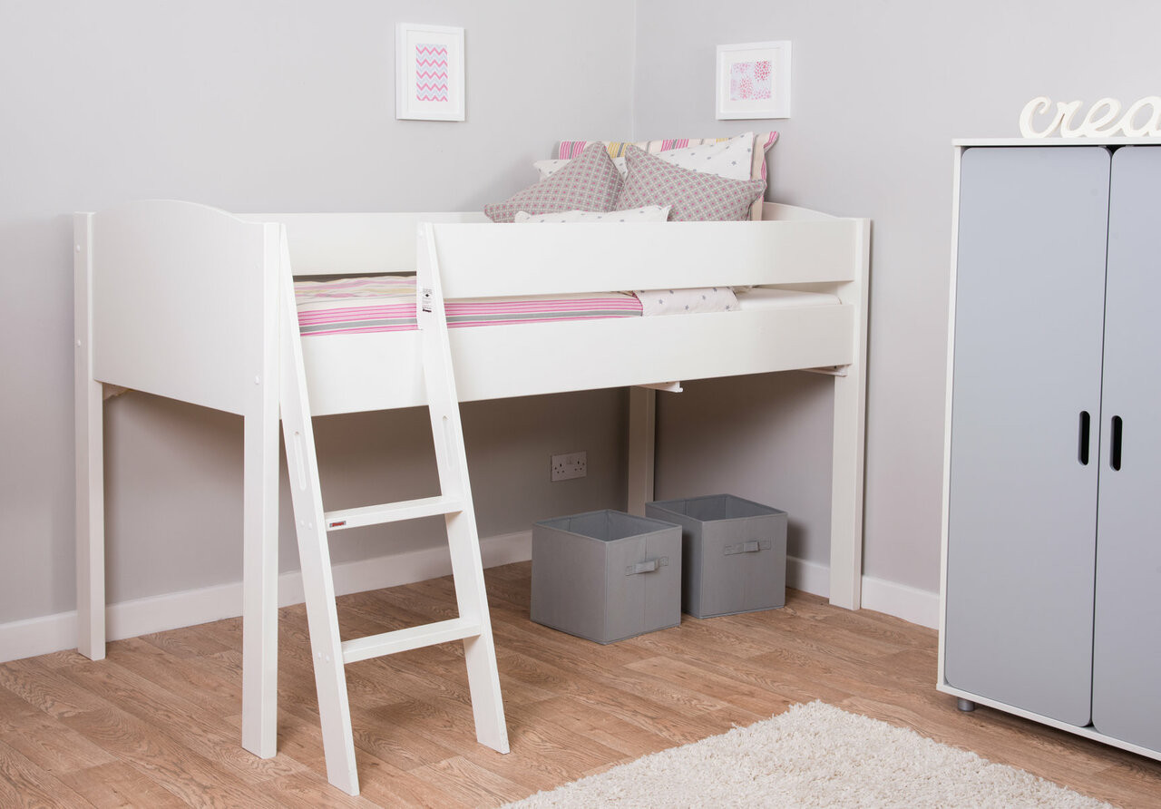 Picture of: Mi Zone Mid Sleeper Bed Frame Bensons For Beds
