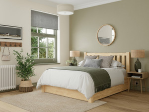Edgemont Ottoman Wooden Bed Frame