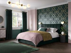 Bella Upholstered Ottoman Bed Frame