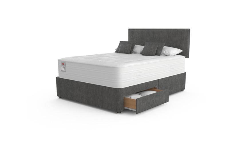 Slumberland Plaza Pocket 2200 Pillow Top Divan Bed Set (from £799.99)