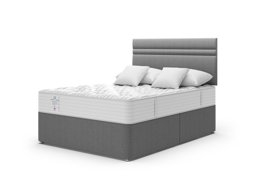 Sealy Baltimore Firm Support Divan Bed Set (£599.99) 60% OFF – SAVE £900