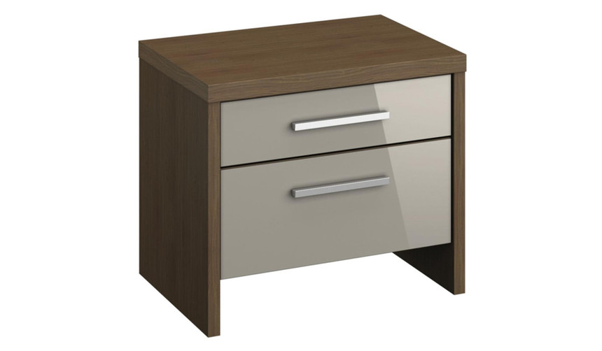 Mirabel 2 Drawer Bedside Table