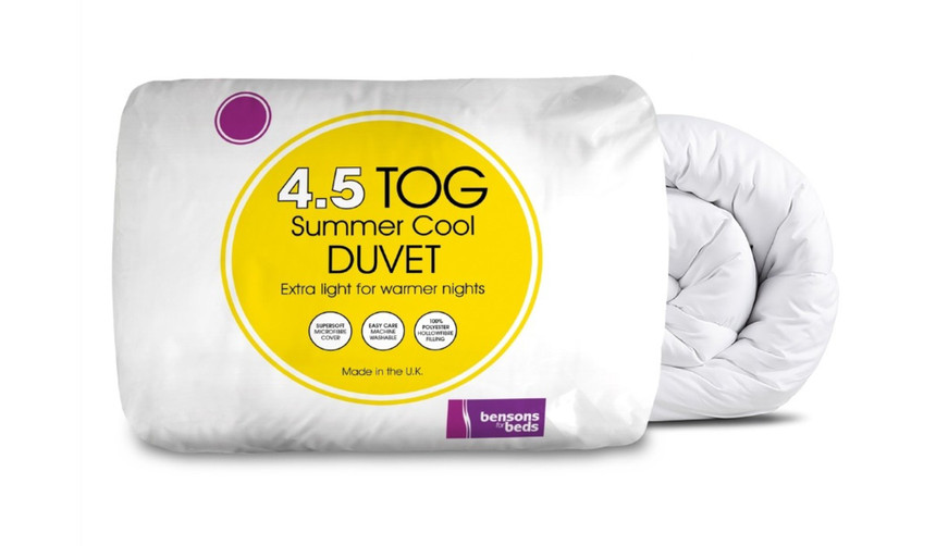 Summer Cool 4.5 Tog Duvet