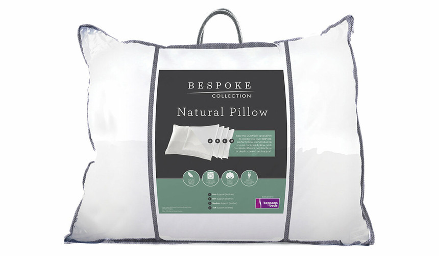 Bespoke Collection Natural Feather Pillow