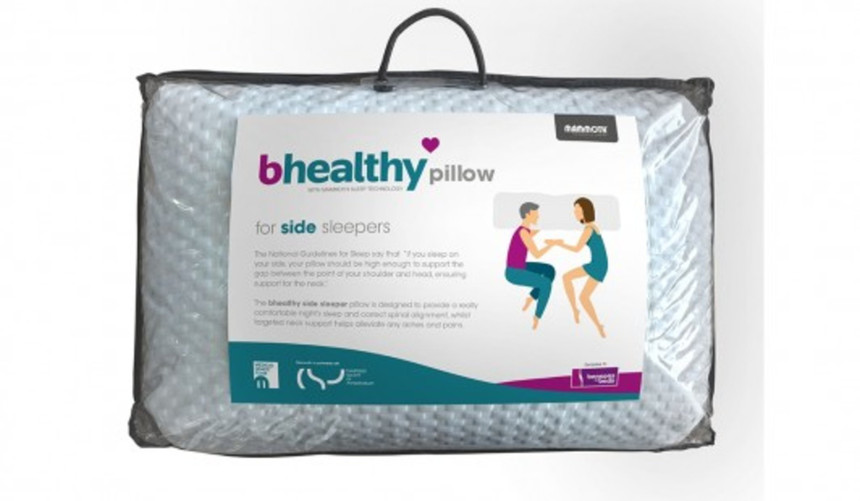 Bhealthy Side Sleeper Pillow