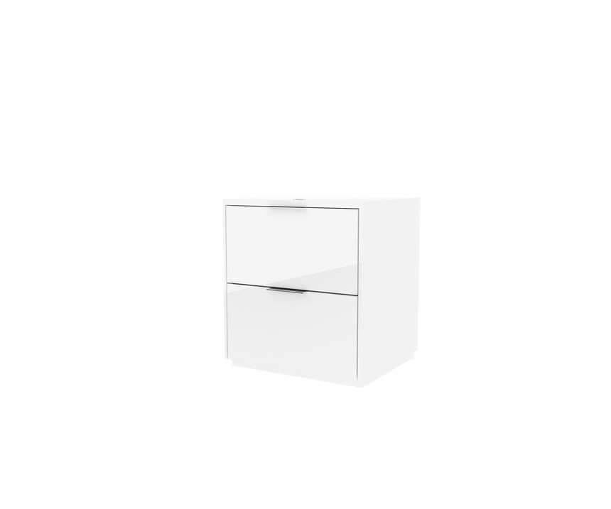 Cube Wireless Charging Bedside Table