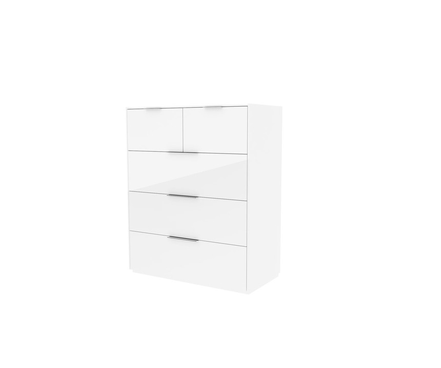 Cube Wireless Charging 3 + 2 Drawer Chest of Drawers