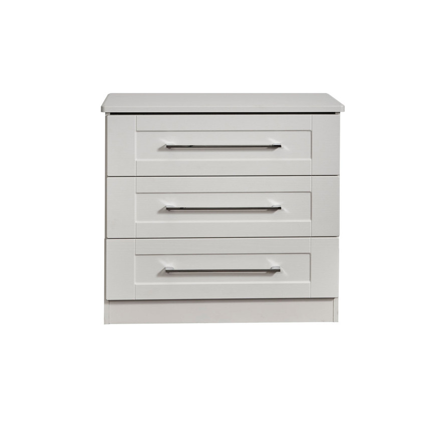 Santana 3 Drawer Wide Chest of Drawers