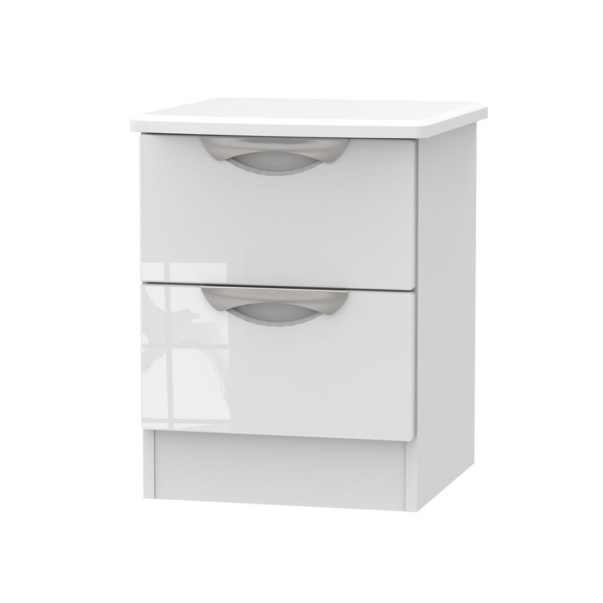 Merton 2 Drawer Bedside Table