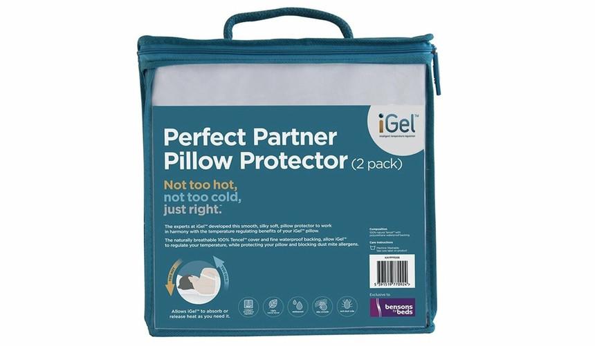 iGel Perfect Partner Pillow Protectors
