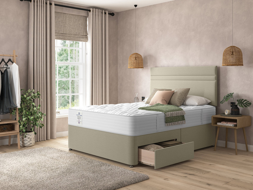 Sealy Baltimore Firm Support Divan Bed Set